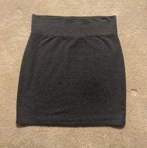 Delia's Gray Cotton Miniskirt